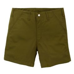 Topo Designs Camp Shorts Moss Made in USA