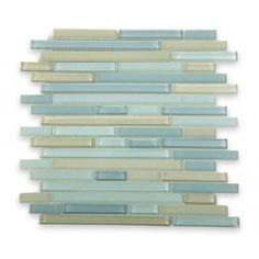 Tao Sea Wave Glass Tiles | TileBar.com