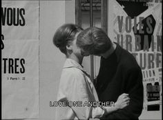 love film subtitles one another Jean Luc Godard le petit soldat Little Soldier