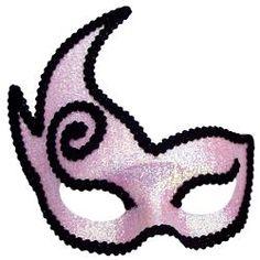 Pink Imp Masquerade Mask