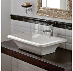 "View the Nameeks 4002 Scarabeo 23-5/8"" Ceramic Vessel Bathroom Sink at Build.com."