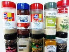 64 Ingredient Substitutes to Keep Your Recipe On Track: Spices