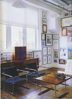 Paul Smith's Office  from Home by Stafford Cliff (A fantastic cozy book)  #PaulSmith #StaffordCliff