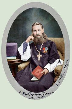 Saint John of Kronstadt, 1894 http://klimbims.deviantart.com/art/Saint-John-of-Kronstadt-1894-521210345