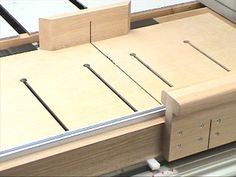 The Super Sled - Crosscut and Miter Sled!