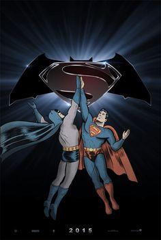 Batman Versus Superman 2015 #BatmanVsSuperman #ManofSteel2 #BatmanVersusSuperman by Topper-xt - check out the top 9 Batman Versus Superman posters: http://www.cautioustrain.com/blog/2013/08/batman-versus-superman/