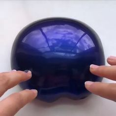 Grab your Slime making kit and start crafting at home :D Don't just watch videos , make your own. because the feeling of touching a slime is maybe the most satisfying thing. So Click the link if you want to have a good fun and satisfying moment! Slimy Slime, Borax Slime, Best Fluffy Slime Recipe, Slime Vids, Blue Slime, Slime And Squishy, Galaxy Slime, 5 Minute Crafts Videos, Slime Craft