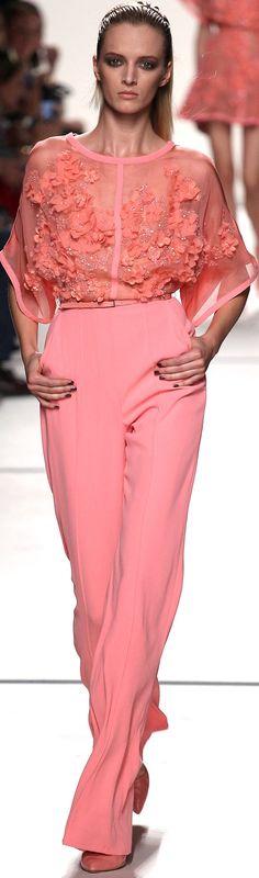 Elie Saab Spring 2014 RTW. Couture jumpsuit