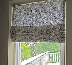 House of Fifty Blog: DIY Faux Roman Blinds!
