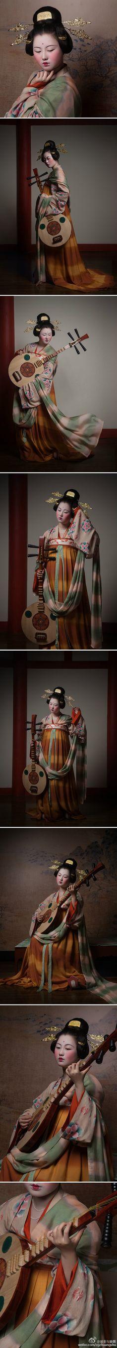 中国 晚唐 by 装束与乐舞