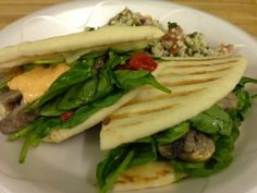 We call this our Zeus Pita-Ini because it's the version of a Served with your choice of Uniquely Greek spreads. Cheese Spread, Deli, Spreads, Philadelphia, Greek, Dishes, Chicken, Ethnic Recipes, Food