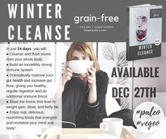 Paleo Vegeo Grain-Free Winter Cleanse Available Now!  #paleo #vegan #cleanse