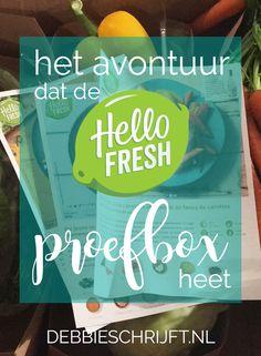 Het avontuur dat de HelloFresh proefbox heet http://www.debbieschrijft.nl/2016/10/23/avontuur-hellofresh-proefbox/