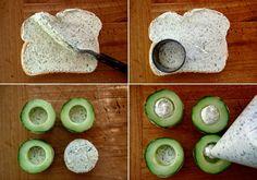 Cucumber-Dill Canapé Recipe – weekend recipes
