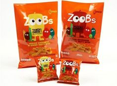 Zoobs #snacks #packaging
