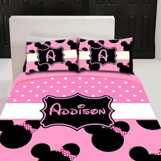 Custom Disney bedding