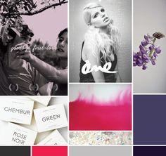 deep purple board | moodboard by breanna rose