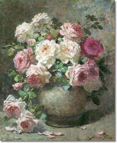 momsmomsmoms Abbott Fuller Graves Painting Still Life, Still Life Art, Still Life  Flowers, Rose