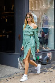 The Best Street Style Outfits From All of Fashion Month