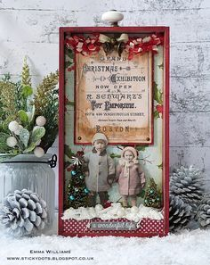 Grand Christmas Exhibition created for Tim Holtz Holiday Inspiration Series 2017