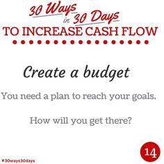 Create a budget #30ways30days