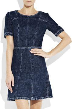 Chloé Vintage-style Denim Dress