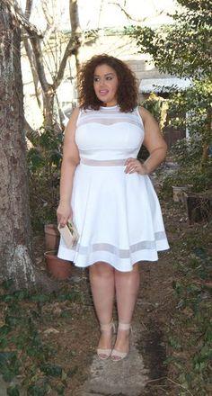 Plus Size Fashion - Allie's World: White Party