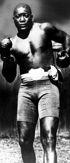 Boxer Jack Johnson, Ca. 1910s Photograph