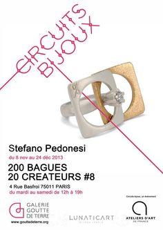 #circuitsBijoux #artigianato #oreficeria mostra a #Parigi a cui partecipa @Stefano Pedonesi  http://omaventiquaranta.blogspot.it/2013/11/le-utlime-mostre-internazionali-di_14.html
