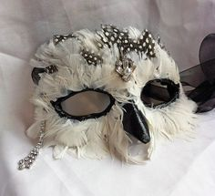 Hey, I found this really awesome Etsy listing at http://www.etsy.com/listing/167883607/athena-snowy-owl-masquerade-mask-with