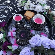 """KILLSTAR on Instagram: """"Welcome To Our Dead & Breakfast!💀 Pick Yer Fav' Teacup & Saucer! • 📷 by @quimimo • #HOMEWARE#GOTHAESTHETIC#GOTHFASHION#DARKHOME"""""""