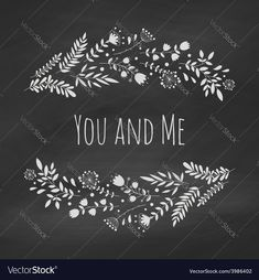 Chalk floral frame on the blackboard Frame of flowers Template for wedding greeting card invitation. Download a Free Preview or High Quality Adobe Illustrator Ai, EPS, PDF and High Resolution JPEG versions.