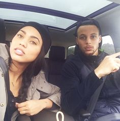 Stephen Curry and his wife Ayesha Follow @destinylove16 for more pins like this.