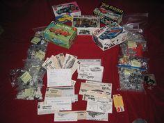 TOTAL Model Junkyard, Parts, Instructions, decals, Boxes & PARTS  '60'S & 70's #MPCAMTJoHanRevellMonogram Hobby Kits, Beetle, Ebay, June Bug, Beetles