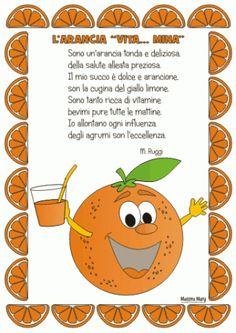 filastrocca arancia