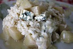 Risotto pere e gorgonzola Benedetta Parodi mi ha incuriosito parecchio, non pensavo che il sapore delle pere potesse combinarsi in modo superbo al gorgonzola