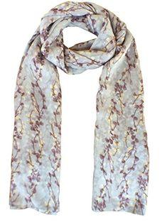 afb8085d4676d TTEEKO Women Fall Scarf Fashion Lightweight Scarfs Soft Long Shawl Large  Scarves