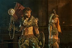 Nuclear Snail Studios Post Apocalyptic Catacombs Mad Max costumes LARP