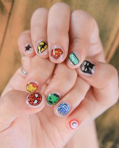 """센스홍 on Instagram: """". #20150603 #어벤져스네일 . #센스홍 #어벤져스 #슈퍼히어로네일 #스파이더맨 #슈퍼맨 #배트맨 #아이언맨 #캡틴아메리카 #헐크 #네일아트 #젤네일 #superman #superhero #avengers #ironman #betman #hulk #marvelcomics #marvel #spiderman#captainamerica #notd #nails #nail #nailart #nailgram #gelnail"""""""