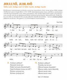 Ukulele Songs, Piano, Sheet Music, Pastor, Holy Night, Silent Night, Pianos, Music Sheets