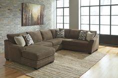 Justyna Contemporary Teak Living Room Set