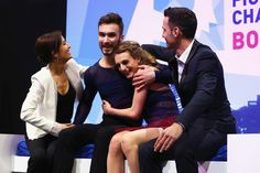 ISU World Figure Skating Championships 2016 - Day 4 In This Photo: Marie-France Dubreuil , Guillaume Cizeron, Gabriella Papadakis, Romain Haguenauer