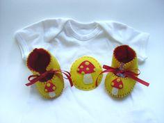 Gnome Baby Gift Set.