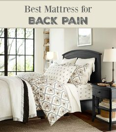 getting a good night's sleep can be tough when you have chronic back pain. After buying 4 mattresses in 3 years, here is what I found to be the best mattress for back pain sufferers.