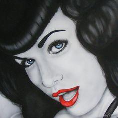 Betty Page art.