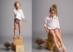I can't get over the loveliness of these little outfits, and the super cute kids. 2011 Spring/Summer collection from Nellystella