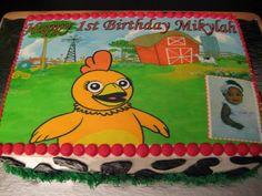 Sprout Chica Birthday Cake cakepins.com