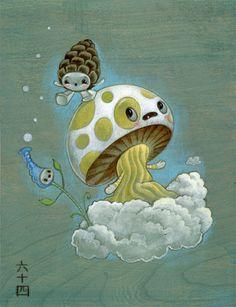 Mushroom Cloud   64colors