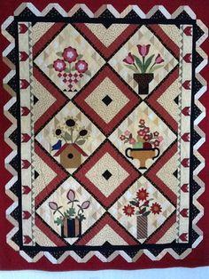 Forever Flowers  Pattern by Arlene Stamper and Melissa Harris