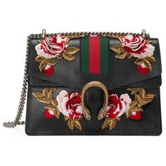 Gucci Dionysus Medium Shoulder Bag (12.415 BRL) ❤ liked on Polyvore featuring bags, handbags, shoulder bags, gucci, black, women, man leather shoulder bag, man bag, handbags shoulder bags and purse shoulder bag